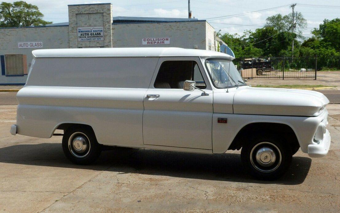 Honest And Rare 1966 Chevrolet C10 Panel Truck