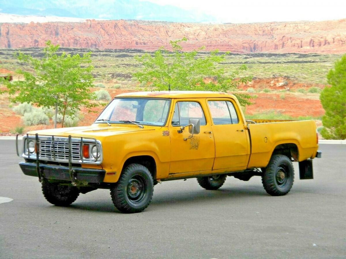 Road Ready 1978 Dodge Power Wagon W200 Crew Cab