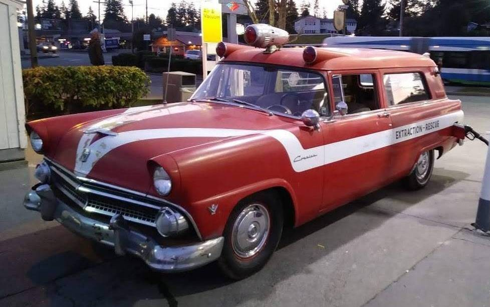 Original 1955 Ford Courier National Ambulette