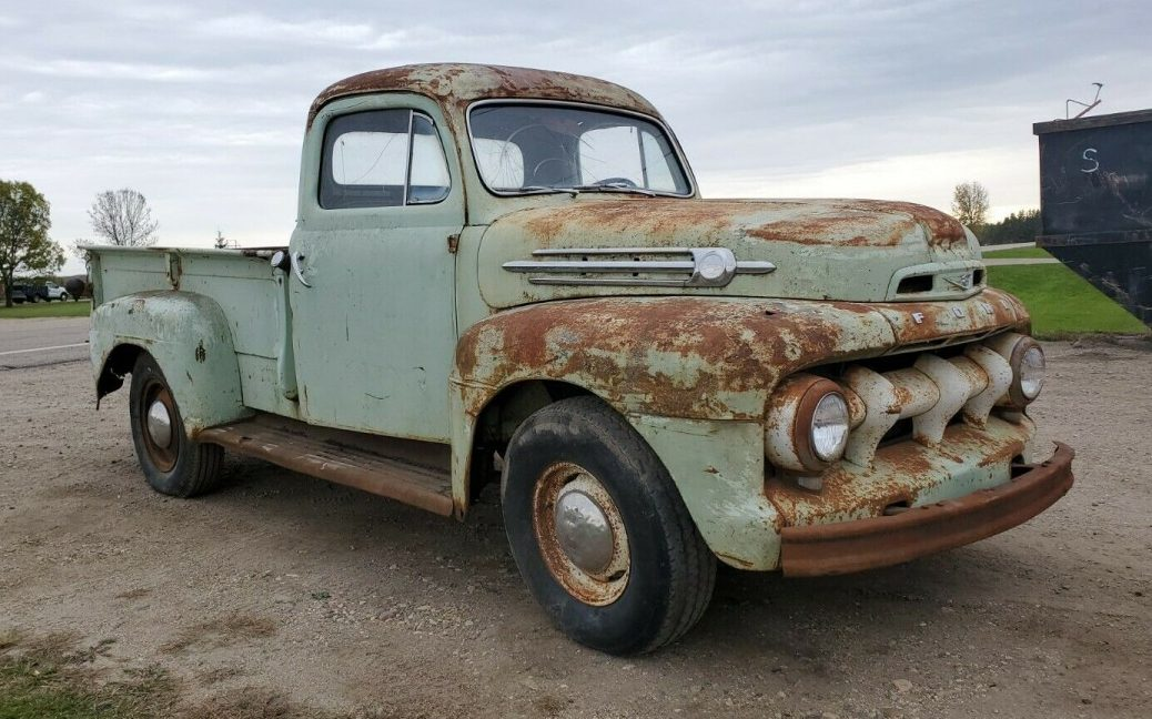 Awesome Patina 1952 Ford F3 Pickup