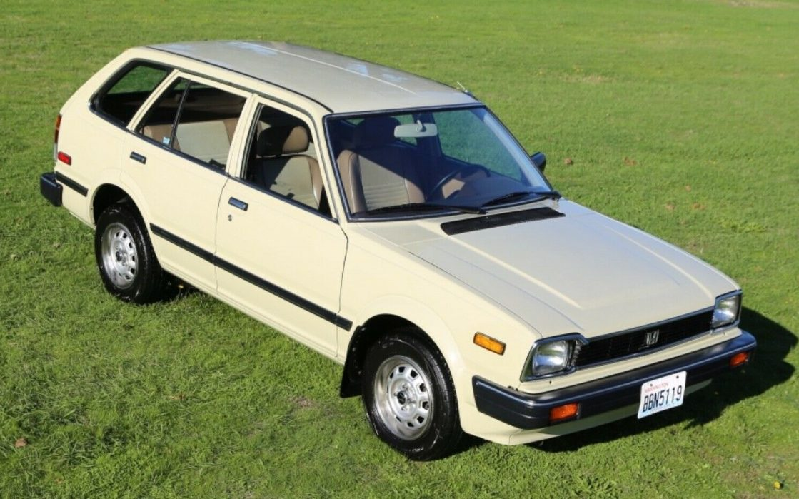 Nicest One Left? 1983 Honda Civic Wagon - Barn Finds