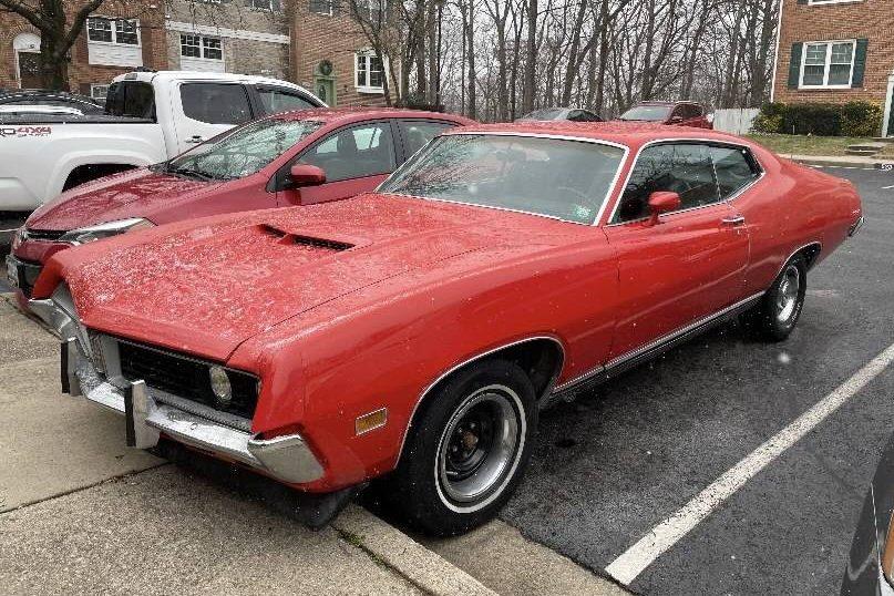 original 351: 1971 ford torino gt