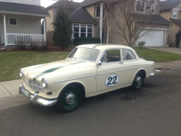 Garaged Amazon: 1966 Volvo 122S