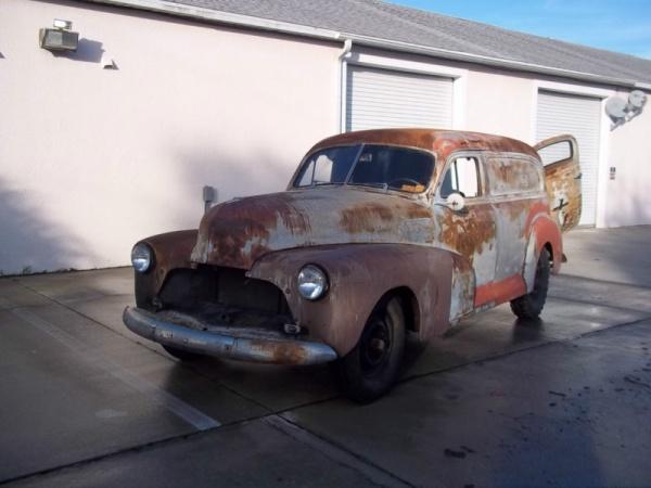 barn-find-1948-chevrolet-panel-van