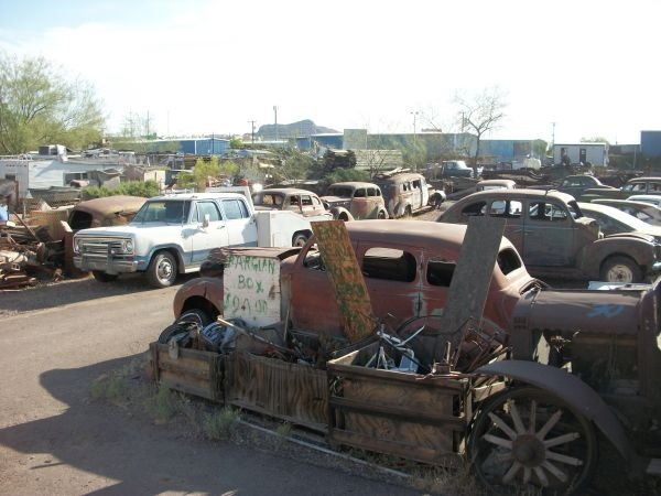 Arizona Salvage Yard Find