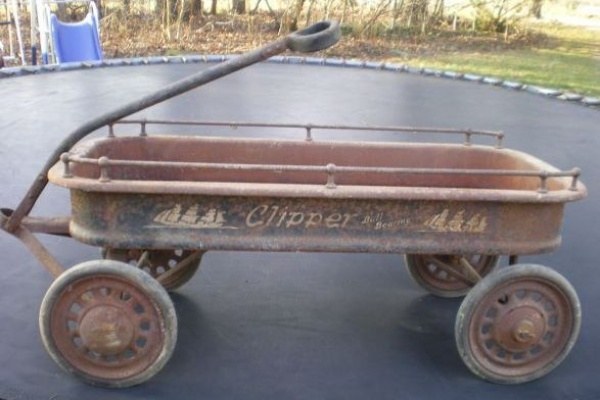 Used Car Auctions >> Last Minute Gift: 1930s Clipper Coaster Wagon