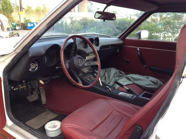 Low Miles Z Car: 1972 Datsun 240Z