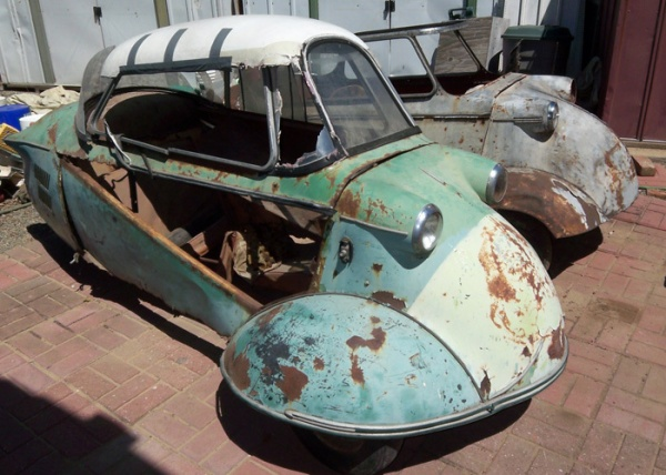 Micro Cars Mighty Projects 1955 Messerschmitts