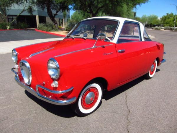Micro Fun: 1958 Goggomobil TS400